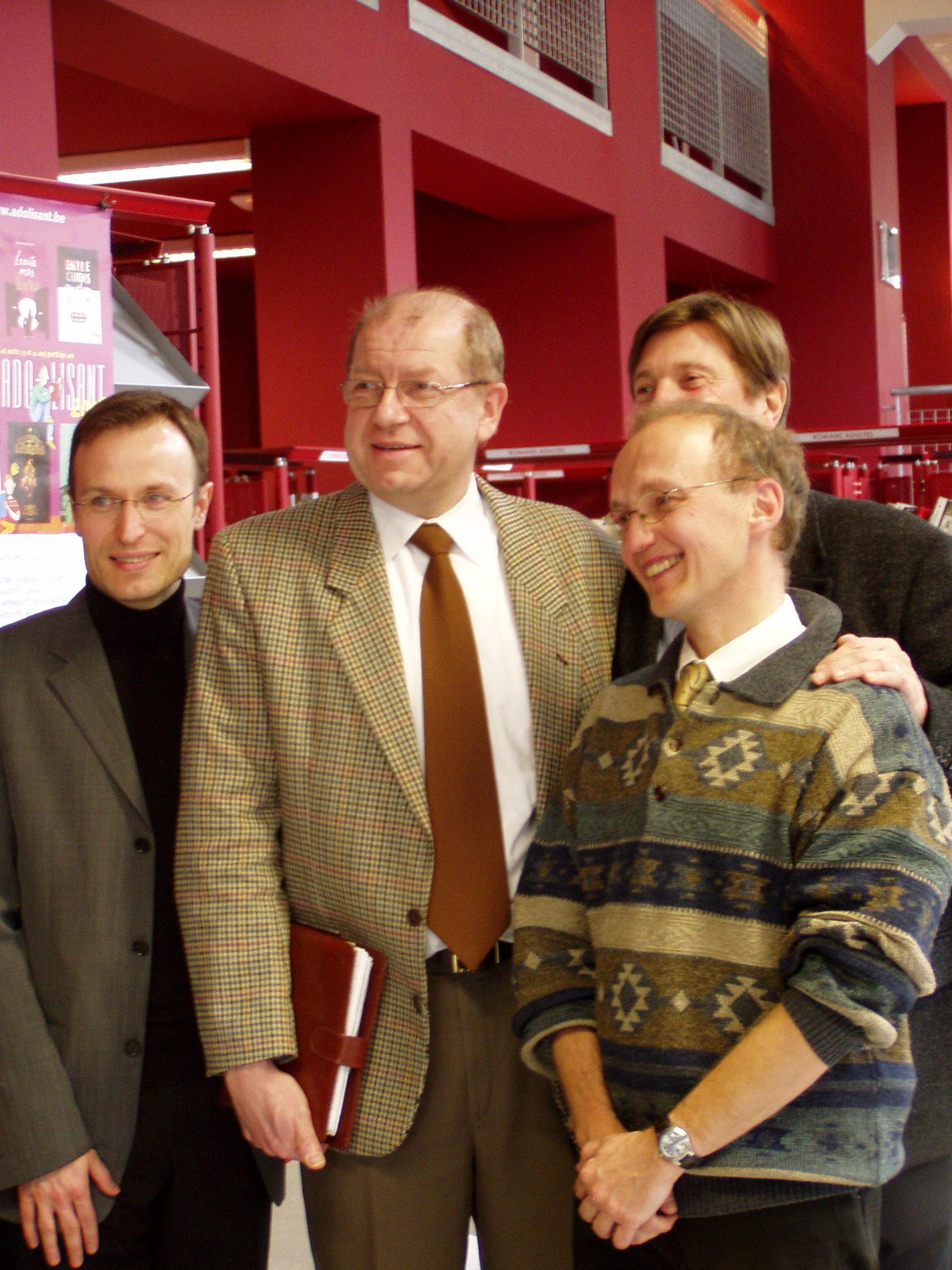 Philippe Martin, Patrick Tisaun, Georges Verzin
