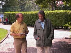 avec André-Paul Duchâteau, en août 2003